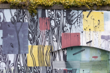 Spring Fling Rural Murals w/ Morag McPherson | Newcastle (UK)
